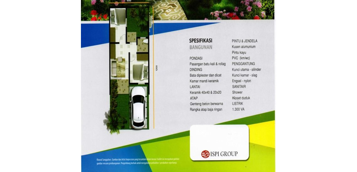Residensial Cifest Tipe New Derby di Bekasi