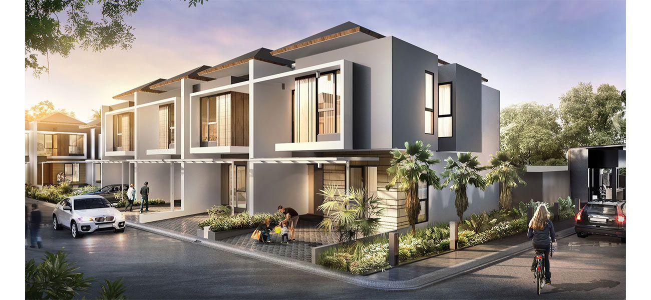 Residensial The Arcadia Bintaro di Tangerang Selatan