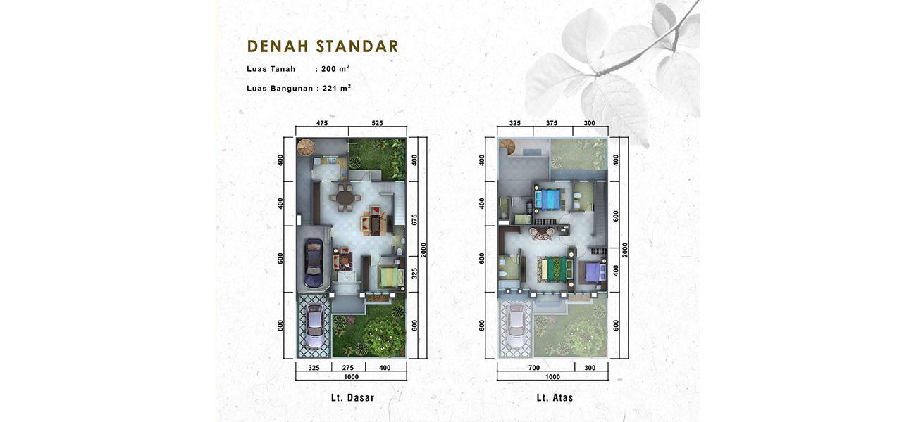 Residensial Cluster Pelican Tipe O at The Springs di Tangerang
