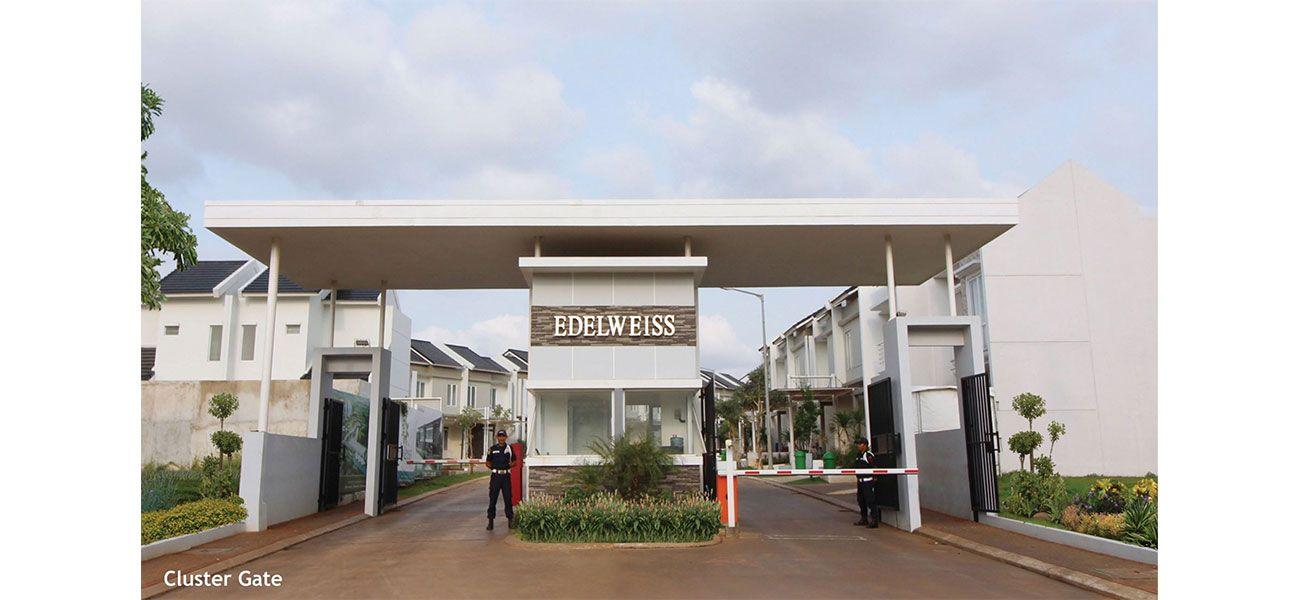 Residensial Serpong Natura City Cluster Natura Edelweiss di Bogor