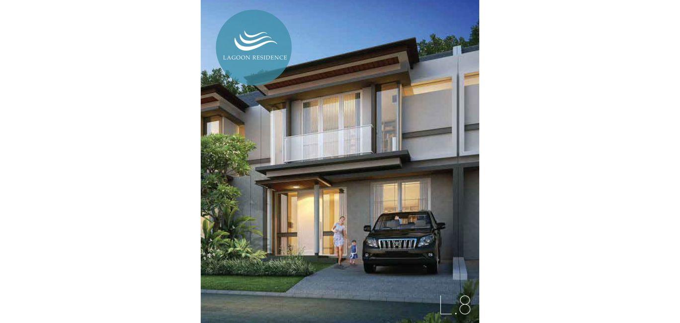 Residensial + Komersial Citra Grand Cibubur CBD Cluster Lagoon Residence di Bekasi