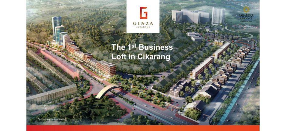 Komersial Ginza Business Loft Tipe 8 di Bekasi