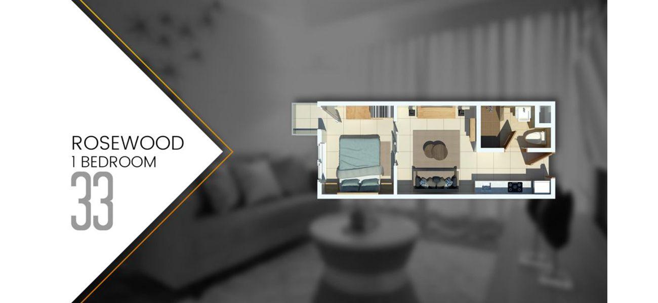 Residensial Tamansari Bintaro Mansion Tipe 1 BR  di Tangerang Selatan