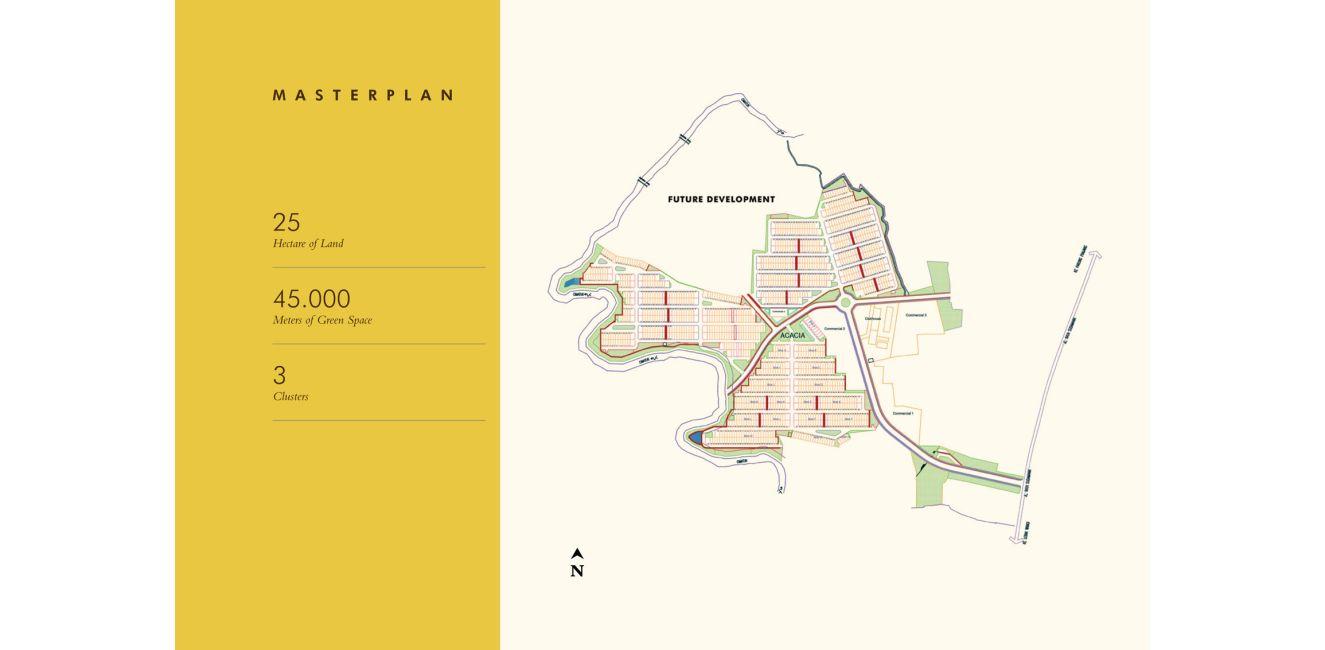 Residensial Samanea Hill di Bogor