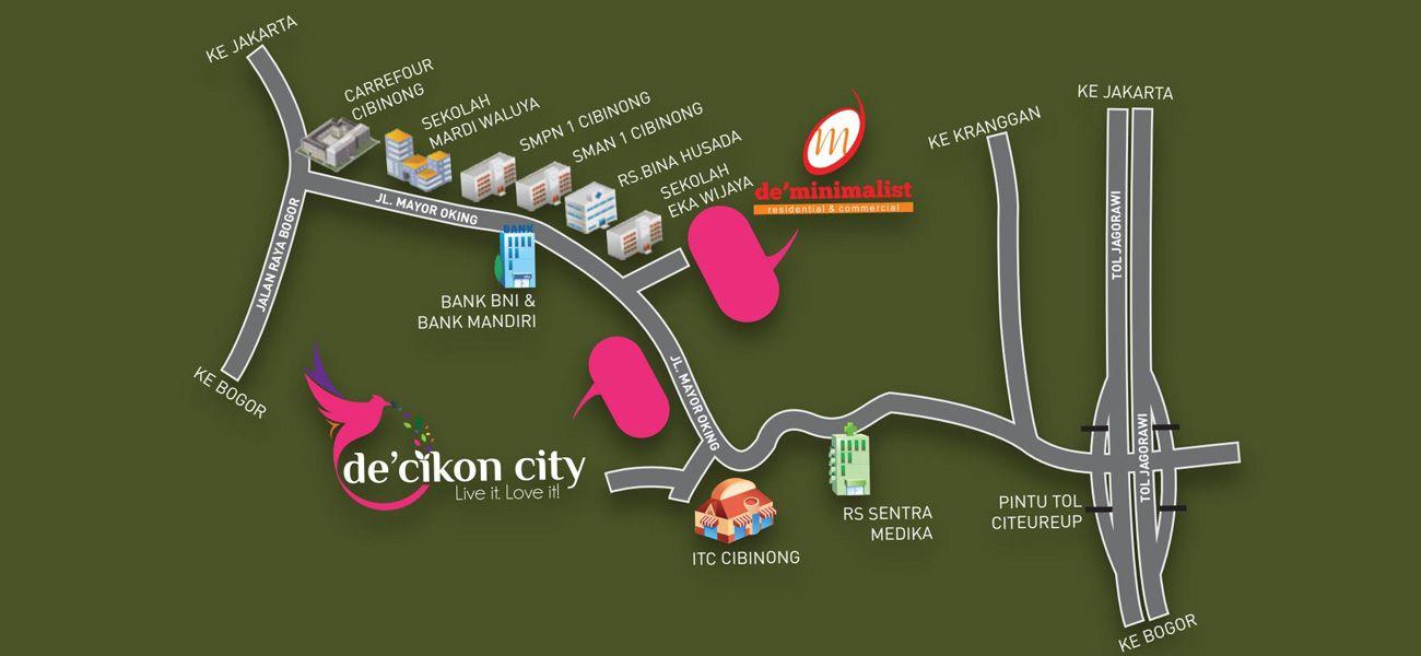 Residensial De Minimalist Cibinong di Bogor