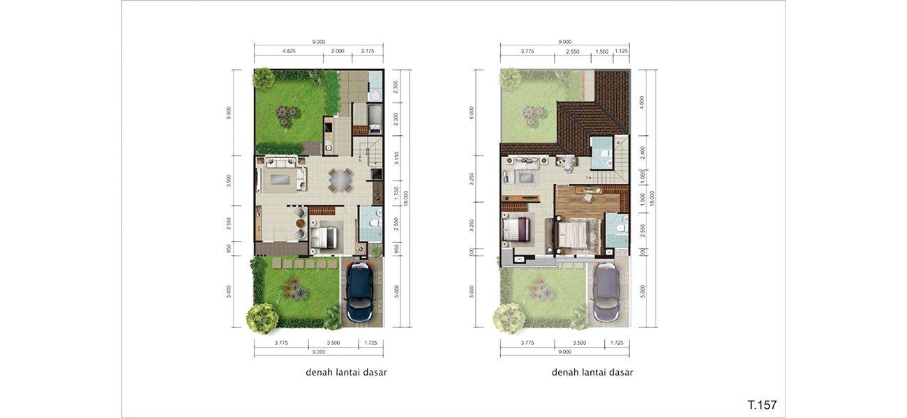 Residensial Bellwood at Kota Wisata Cibubur Tipe 157 di Bogor
