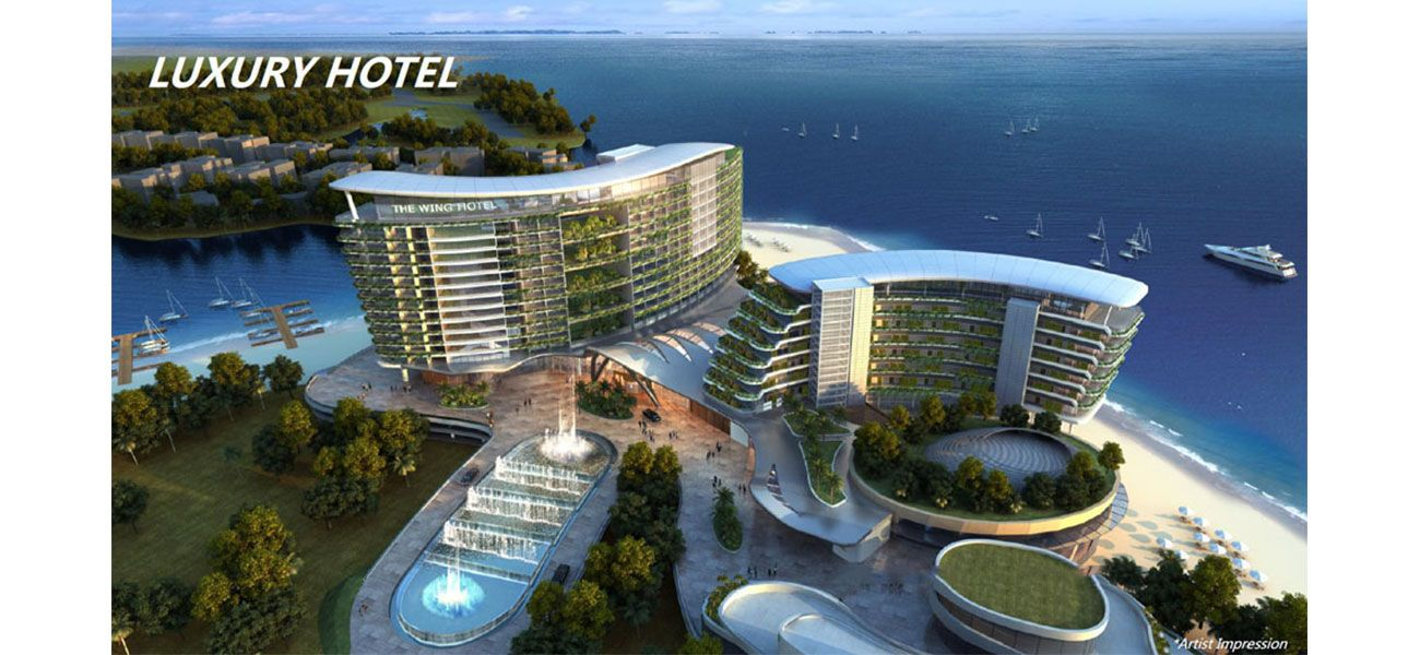Residensial & Komersial Forest City - Malaysia di Jakarta Utara