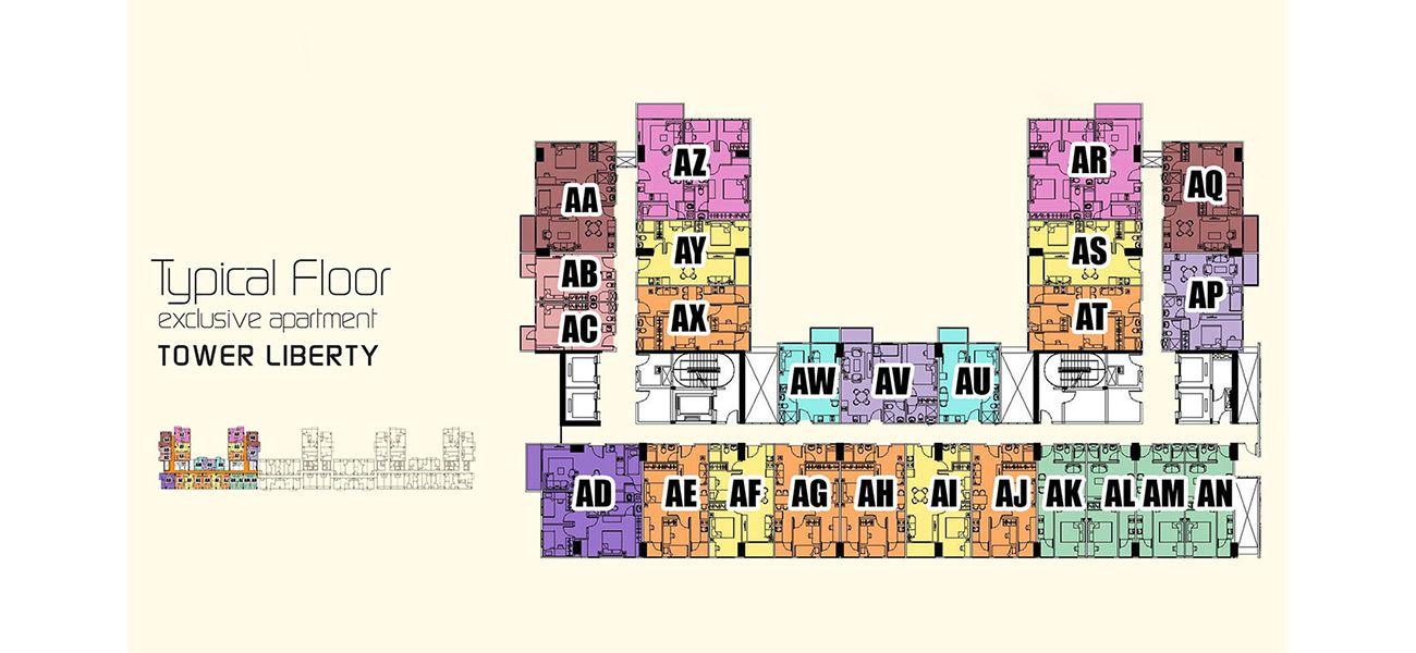 Residensial & Komersial Podomoro City Deli Medan di Medan