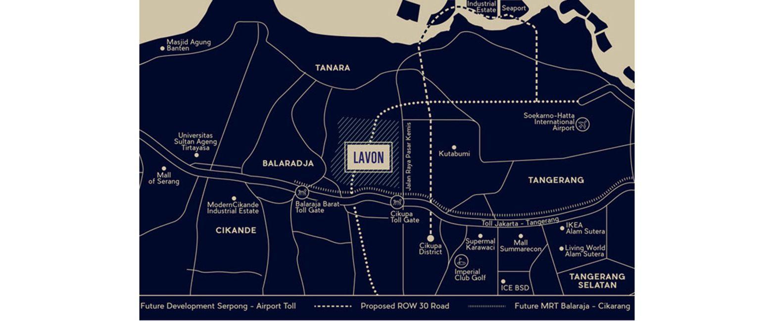 Residensial Lavon II di Tangerang