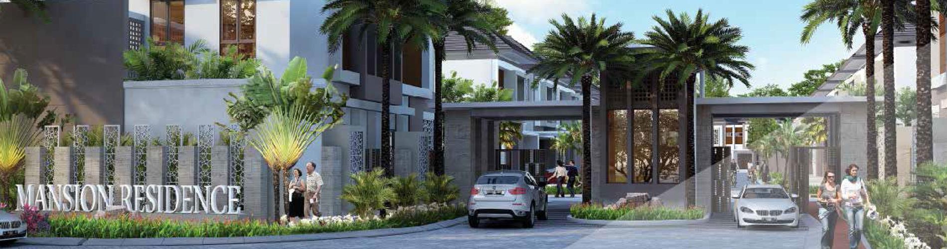 Residensial The Mansion at RKM Tanjung Bunga di Makassar