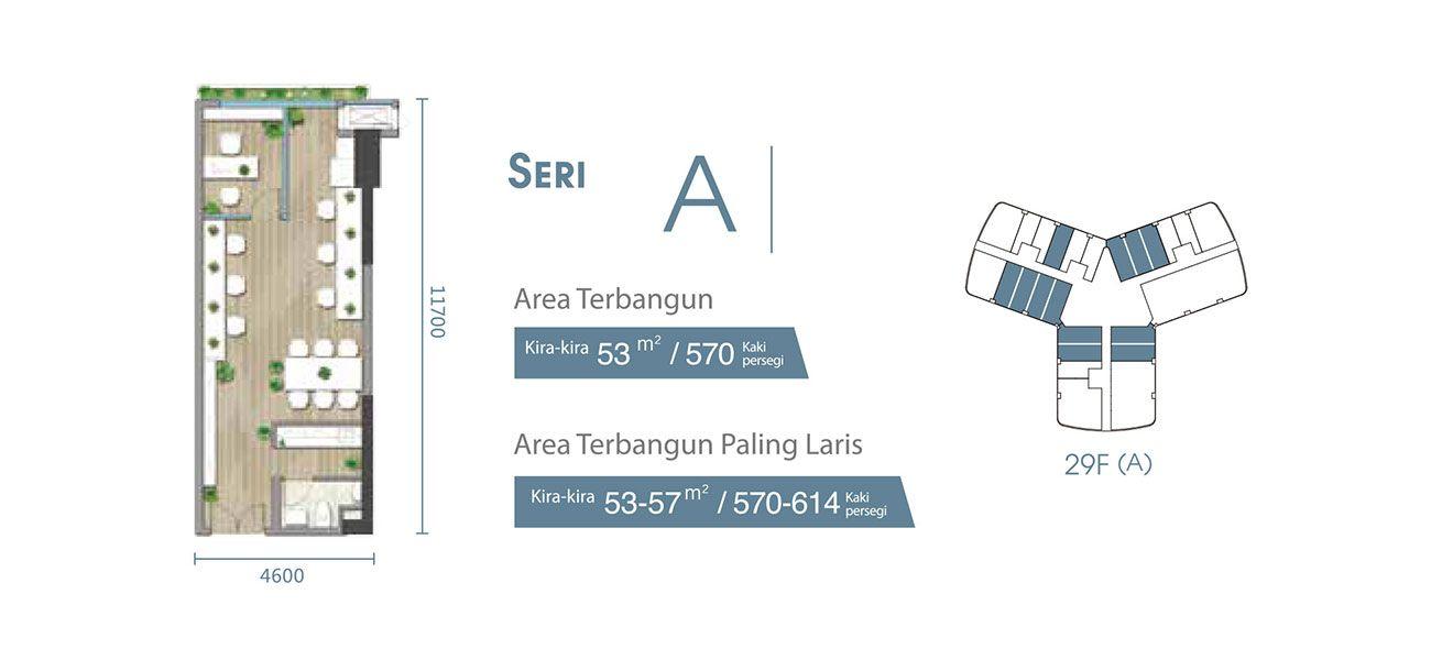 Residensial & Komersial Carnelian Tower at Forest City Seri A di Jakarta Utara
