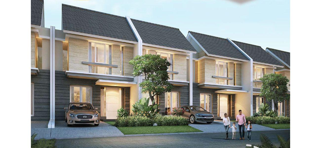 Residensial Citraland Cibubur Tipe New Attaleya 1 di Bogor