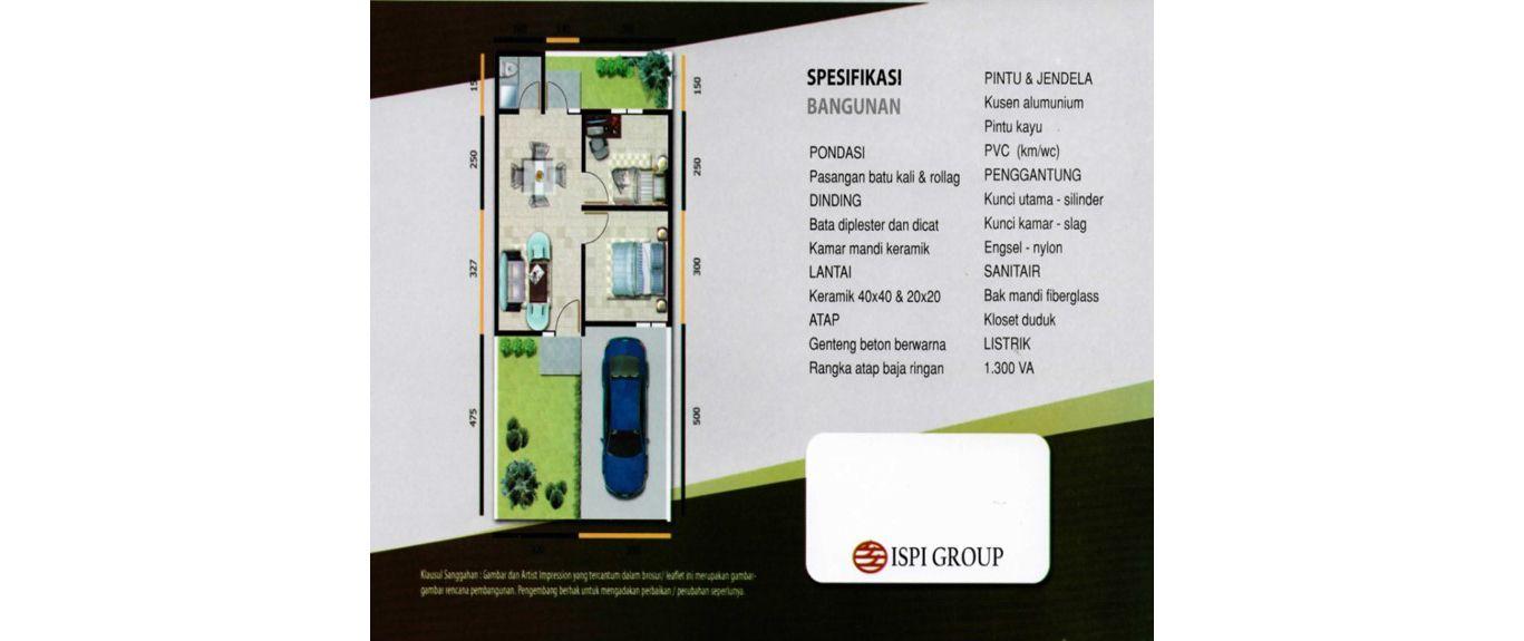Residensial Cifest Tipe Cambridge di Bekasi