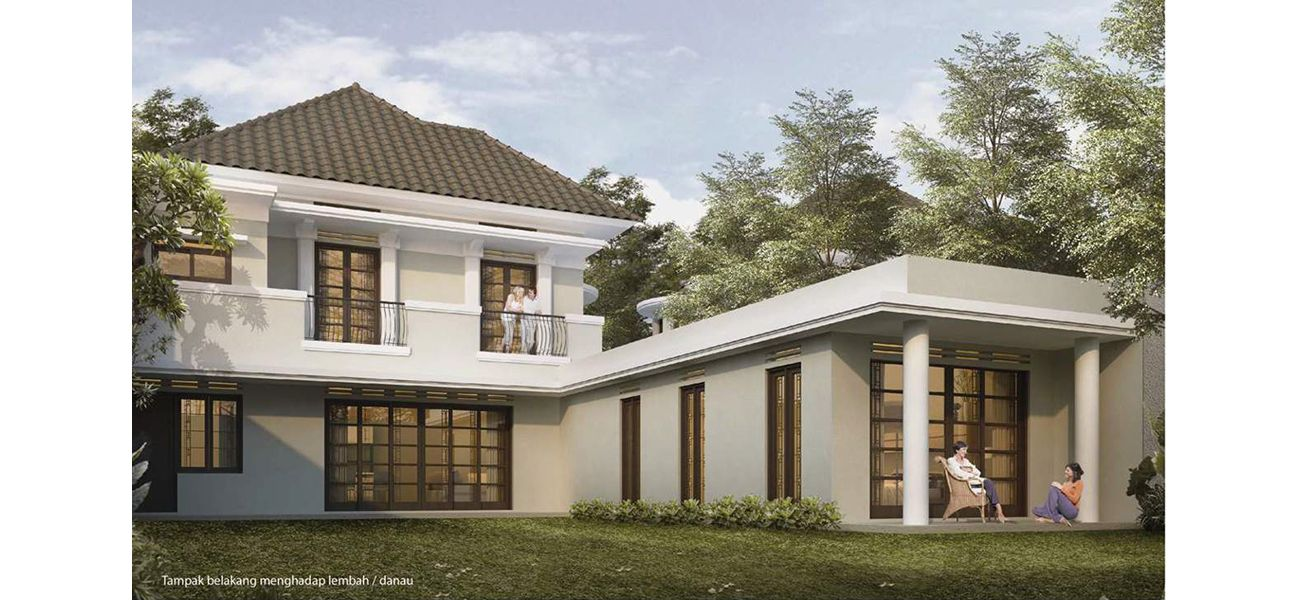 Residensial Koridor Bandoeng Tempo Doeloe Tipe Candratirta Asri di Bandung