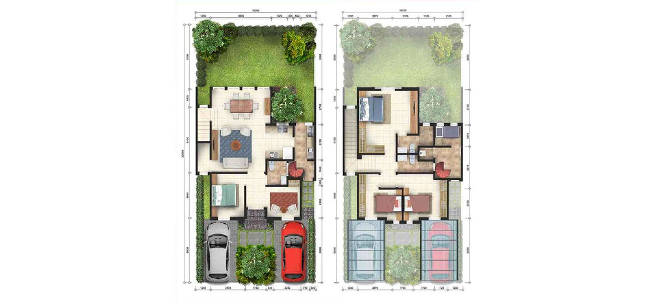 Residensial & Komersial GKIC – Grand Victorian 1 Tipe Brighton di Manado