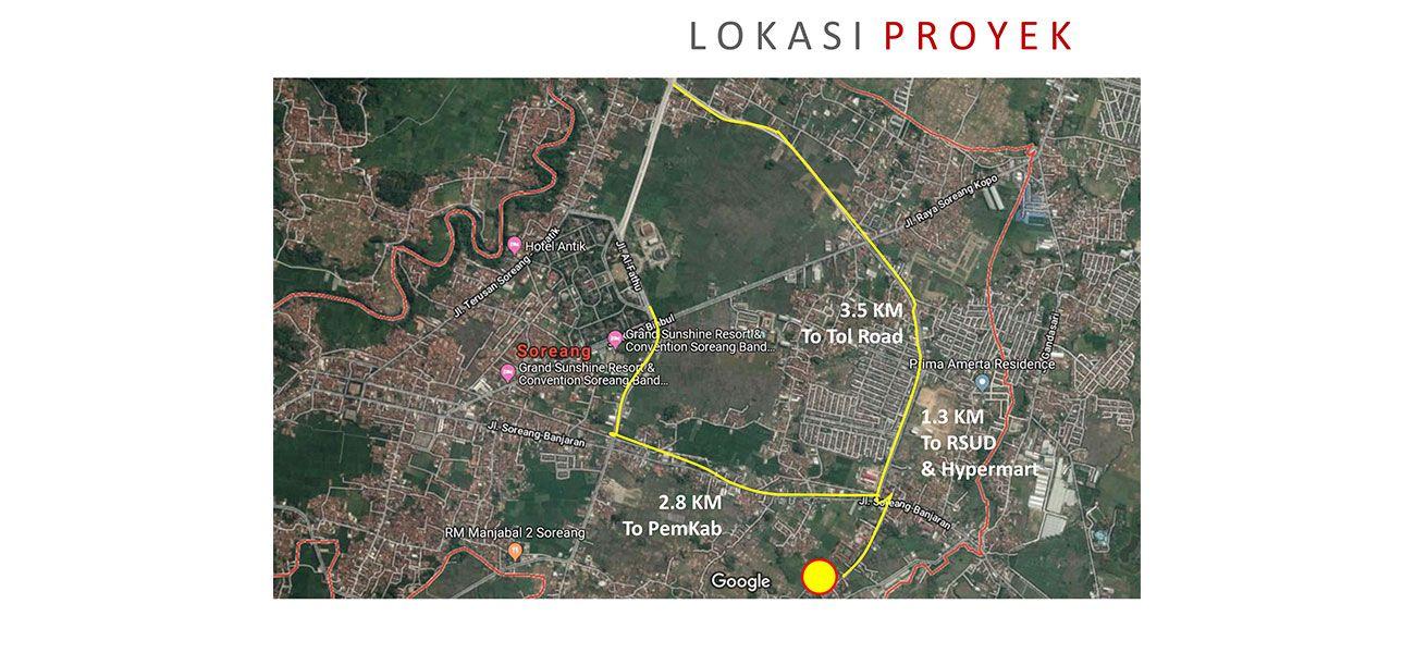 Residensial Visita Townhouse di Bandung