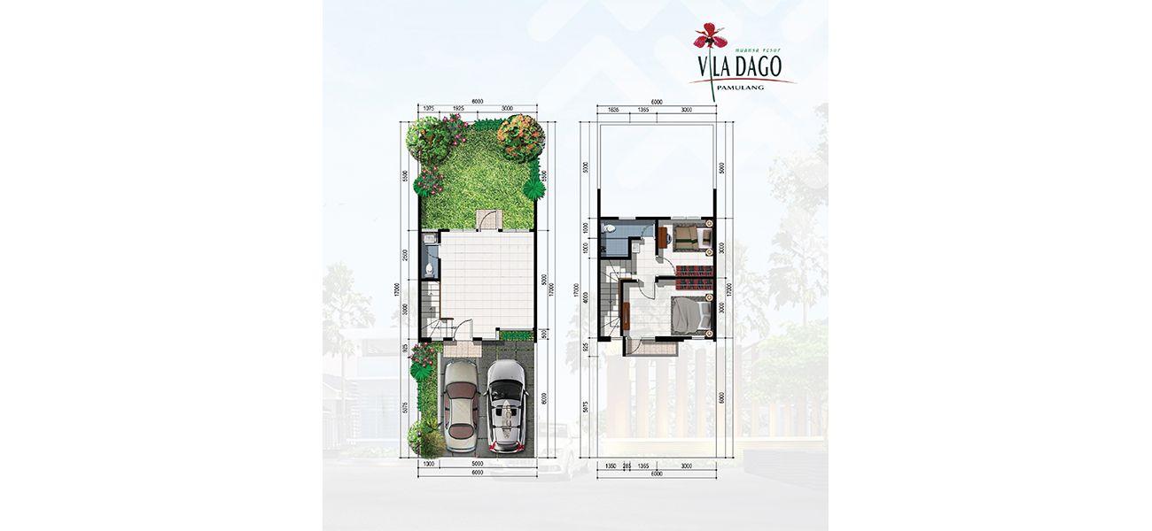 Residensial Vila Dago Pamulang Tipe Ayana  di Tangerang Selatan