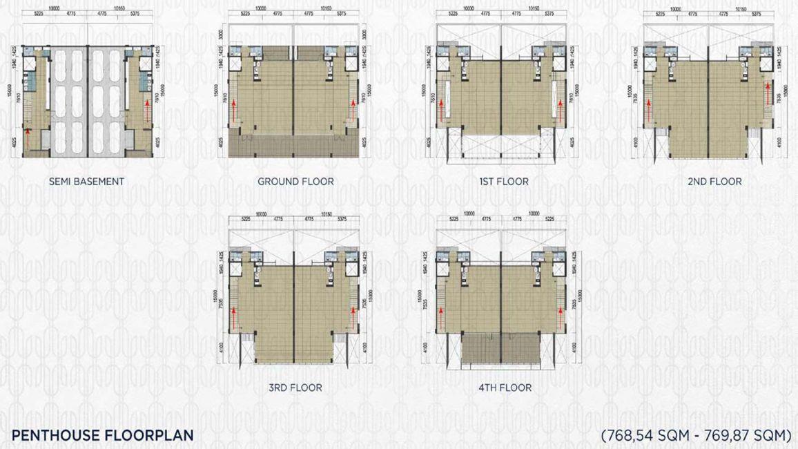 Komersial BSD City – Capital Cove Tipe Penthouse di Tangerang Selatan