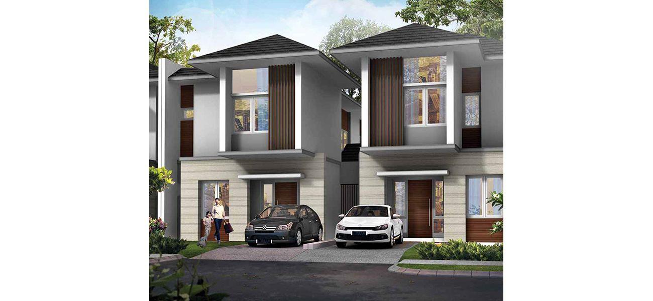 Residensial Nebraska at Kota Wisata Cibubur Tipe 131/136 di Bogor