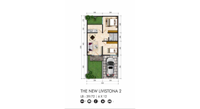 Residensial Citraland Cibubur Tipe The New Livistona 2 di Bogor