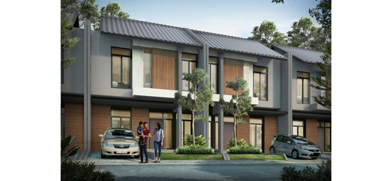 Residensial Cluster Tatar Lokacitra at Kota Baru Parahyangan di Bandung