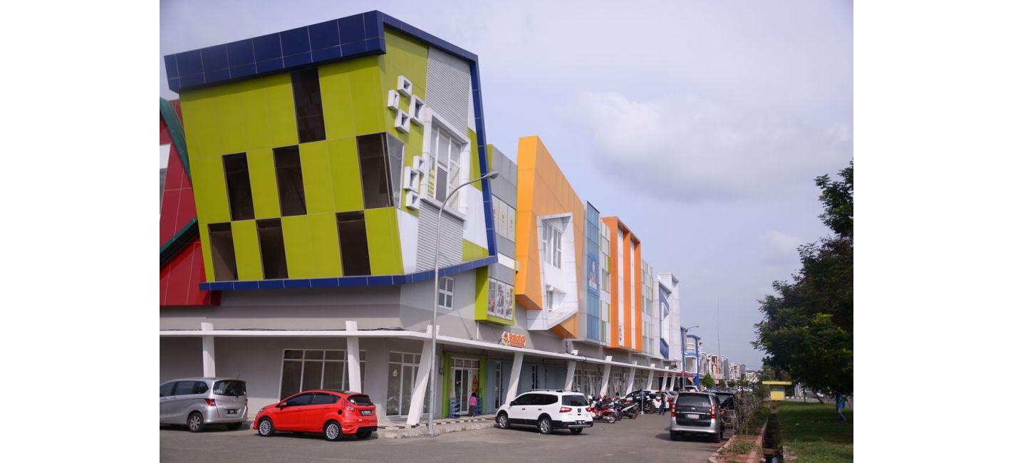 Residensial & Komersial Ruko Courtyard – Galuh Mas di Karawang