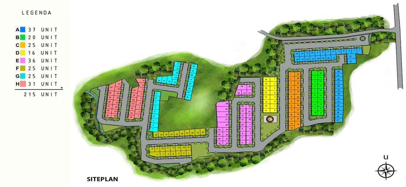 Residensial The Jasmine Boulevard di Bogor