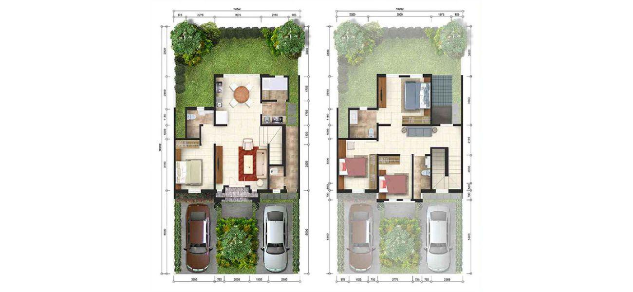 Residensial & Komersial GKIC – Grand Victorian 1 Tipe Albany di Manado