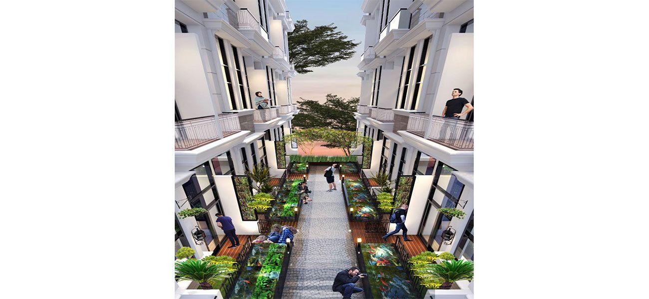 Residensial Apple Residence di Jakarta Selatan
