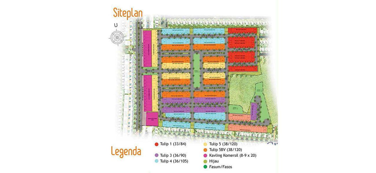 Residensial + Komersial Citra Indah Cluster Bukit Tulip Tipe 33 di Bogor