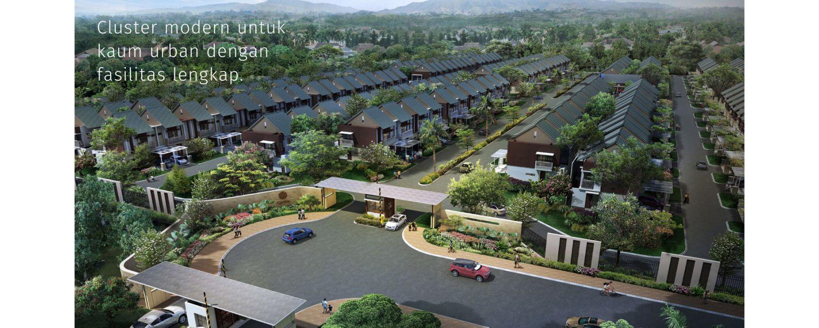 Residensial Cluster Cynthia at Summarecon Bandung di Bandung