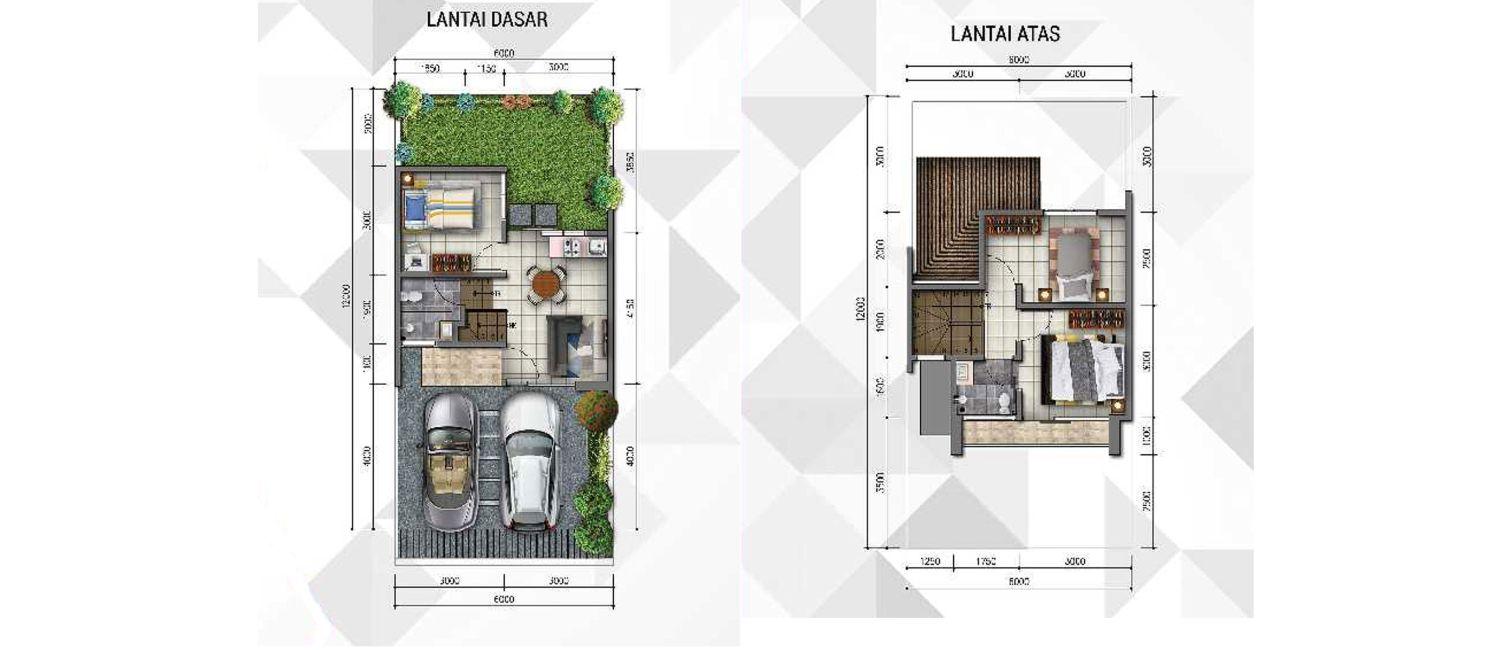 Residensial Golden Stone Tipe Jade di Tangerang