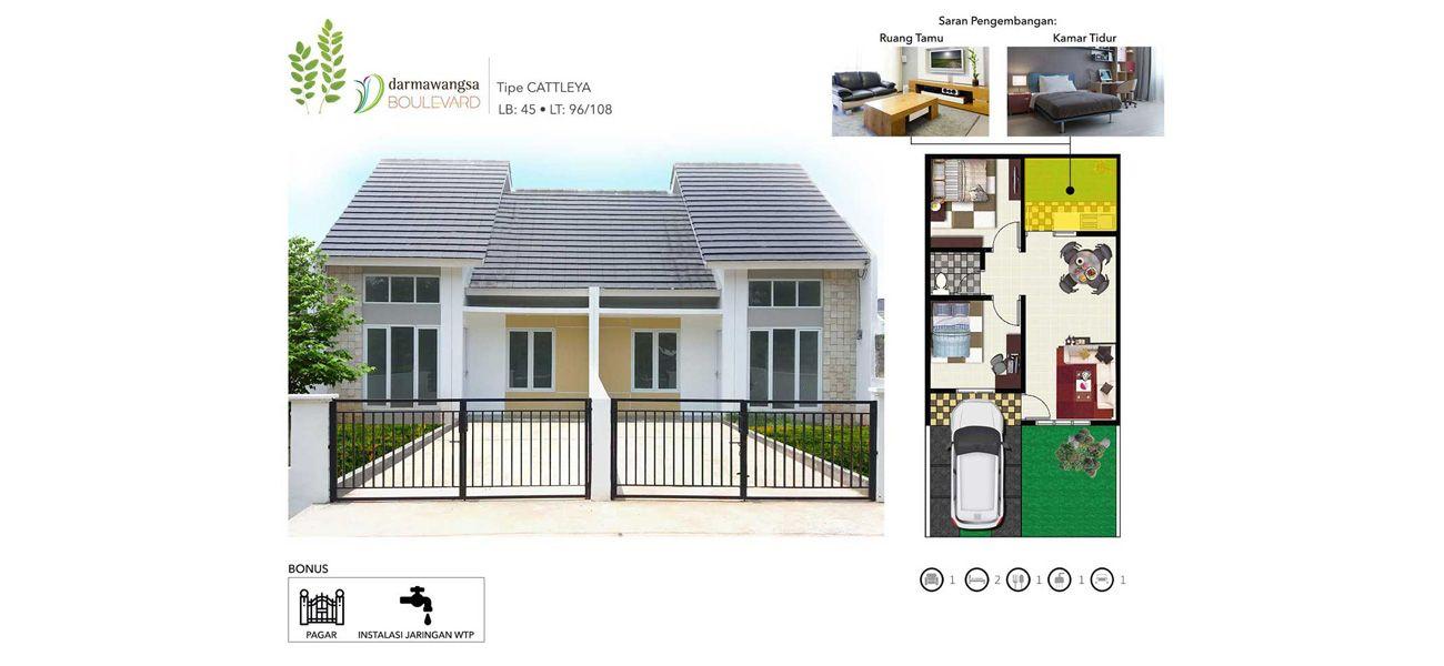 Darmawangsa Residence Tipe Cattleya