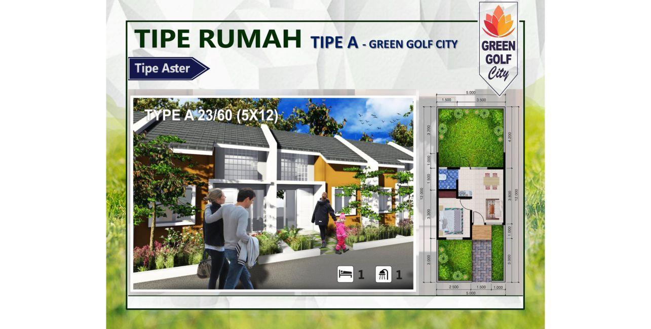 Green Golf City Tipe A
