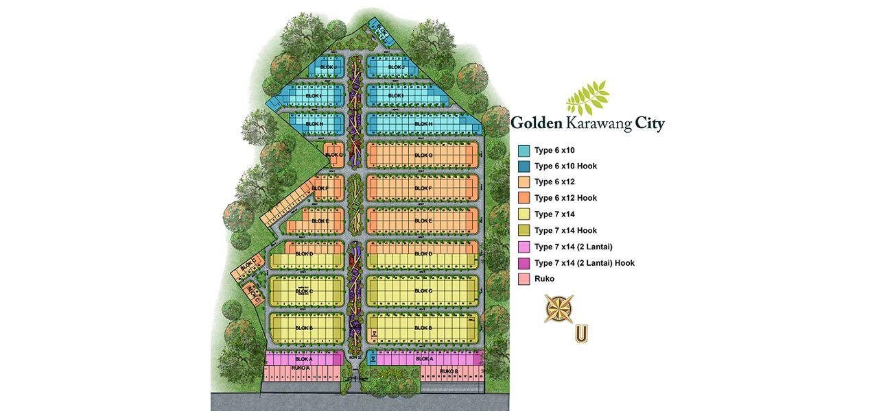 Residensial Golden Karawang City di Karawang
