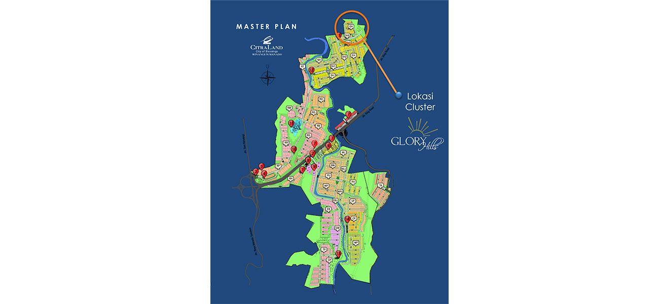 Residensial Citraland Manado – Glorry Hills Tipe Charleston  di Manado