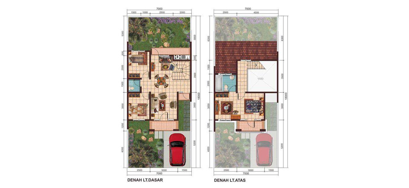 Residensial & Komersial Galuh Mas Karawang Cluster Tipe Victorian  di Karawang