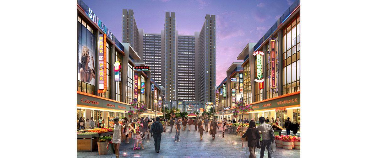 Komersial PIK 2 - Rukan Osaka di Jakarta Utara