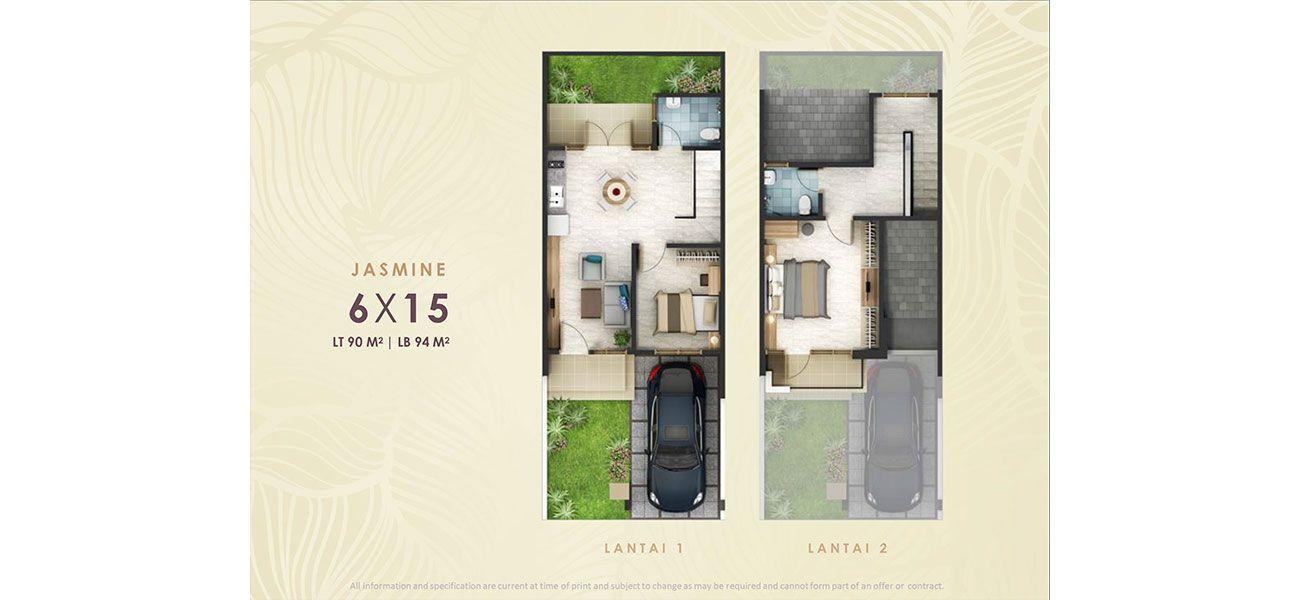 Residensial & Komersial Cluster Fashagriya Tipe 6  di Bandung