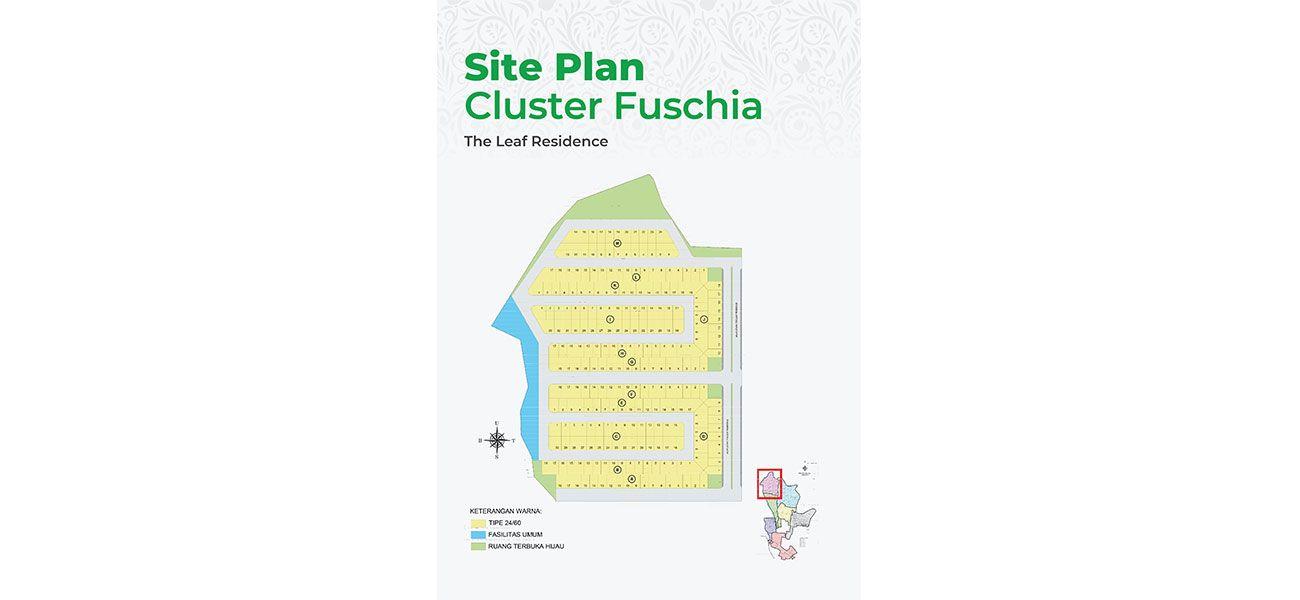 Residensial The Leaf Residence – Cluster Fuchia Tipe B  di Bogor