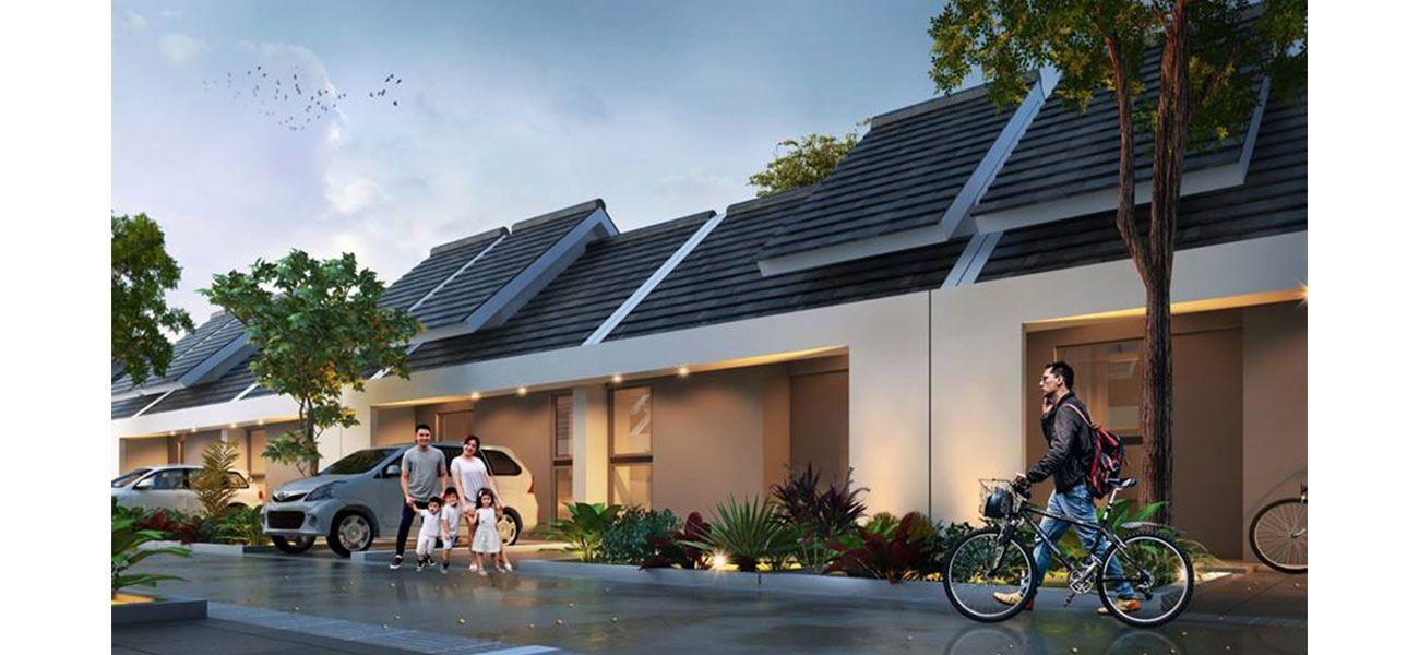 Residensial Casavera Dramaga Residence Tipe Wisteria di Bogor