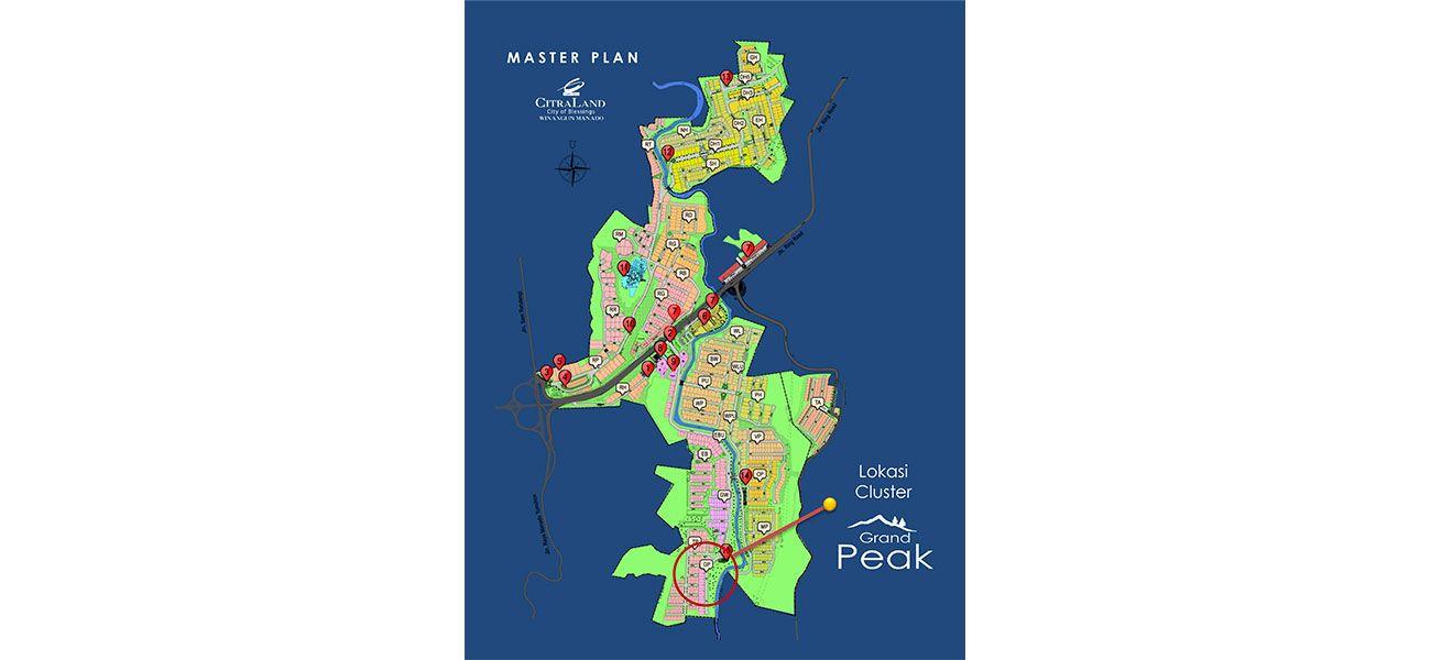 Residensial Citraland Manado – Edenbridge & Grand Peak Tipe Elsinore  di Manado