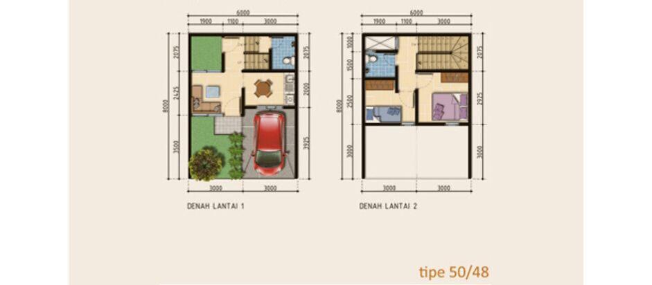 Residensial Naraya Park Tipe 50 di Bekasi