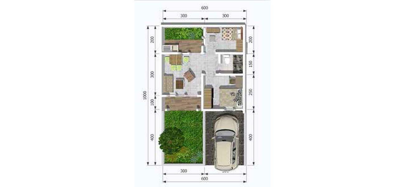 Residensial & Komersial Jade Park 2 Tipe Topaz di Bogor