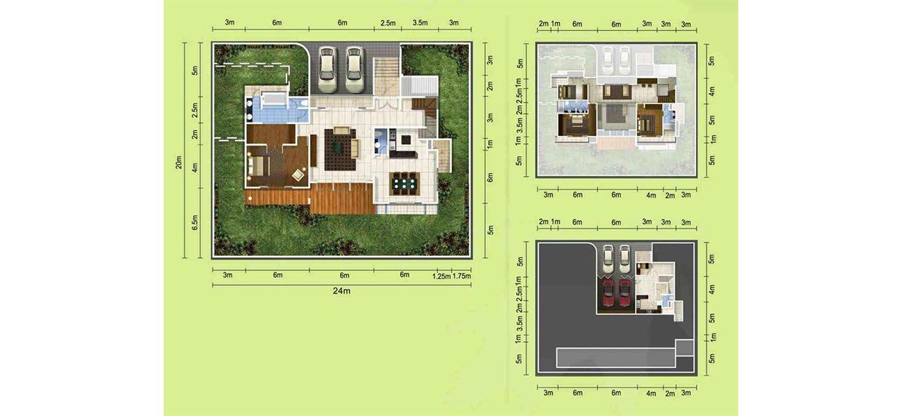 Residensial & Komersial GKIC – Bukit Kawanua Tipe Aquila di Manado