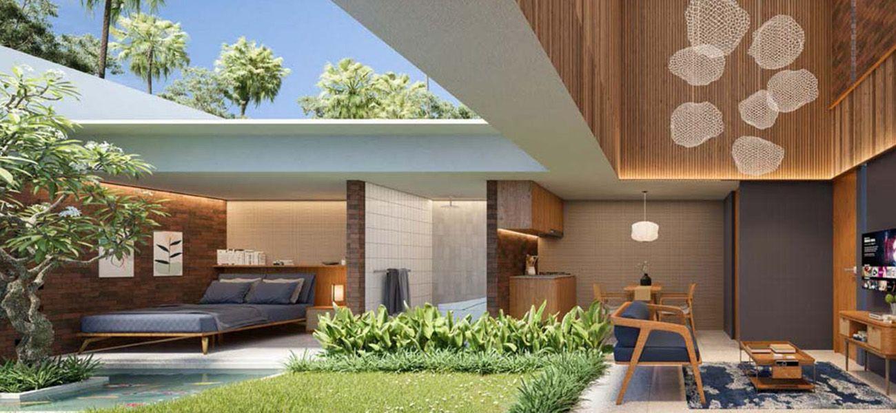 Residensial Samanea Hill Cluster Avilla Tipe Suite di Bogor