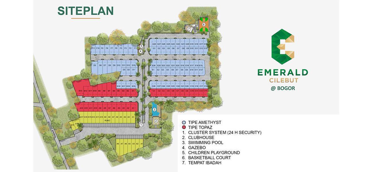 Residensial Emerald Cilebut di Bogor
