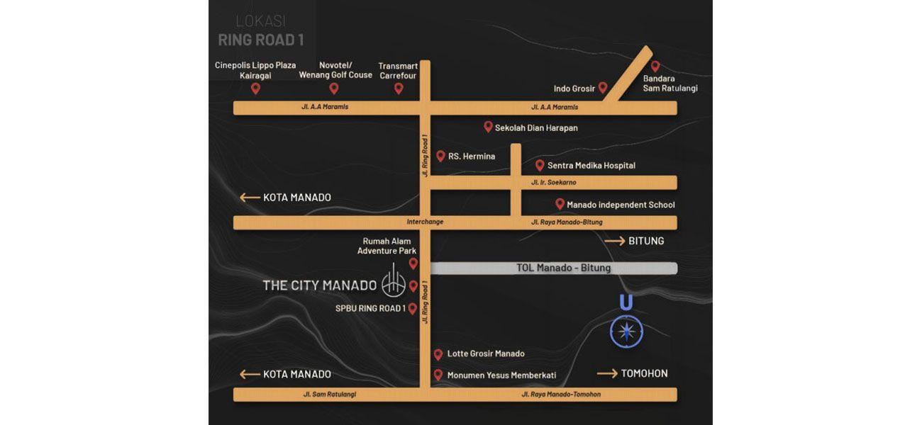 Residensial The City Manado di Manado
