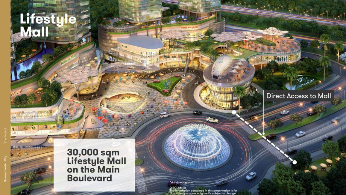 Residensial + Komersial Sakura Garden City di Jakarta Timur
