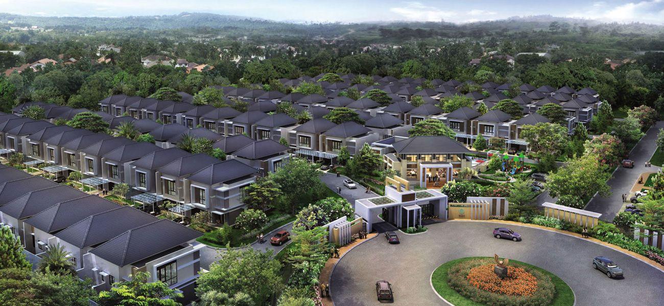 Residensial Kota Summarecon Bandung di Bandung